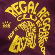REGAL REGGAE CLUB T-SHIRT BURG & YELLOW